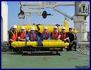 ECA Group has performed the preventive maintenance service of two ECA Group autonomous underwater vehicles AUV A9-E used by the Japan Coast Guards (JCG) for hydrographic survey and physico-chemical sampling.
