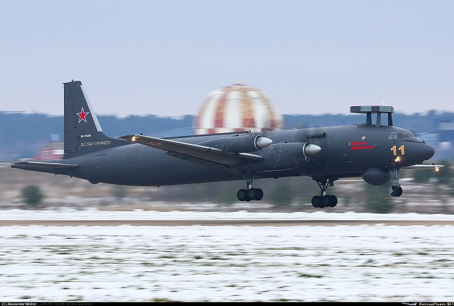 Il 38N antisubmarine aircraft ASW MPA Russia