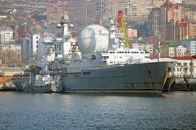 Marshal Krylov range ship Russian Navy