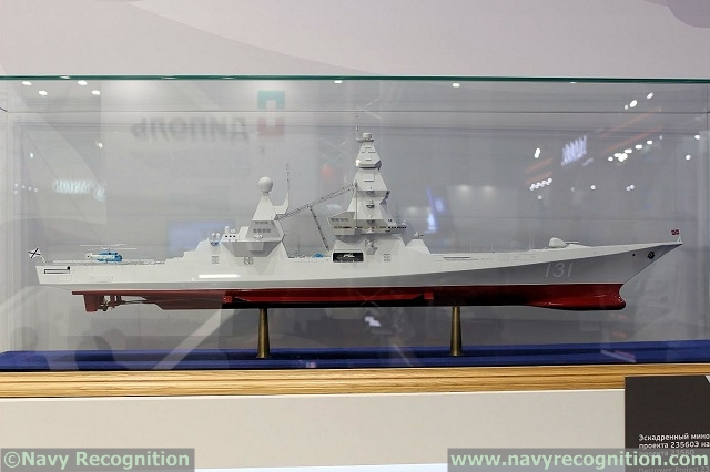 Project 23560E Leader Class Destroyer Russian Navy 1