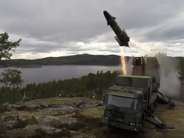 RBS 15 anti ship missile SAAB Sweden