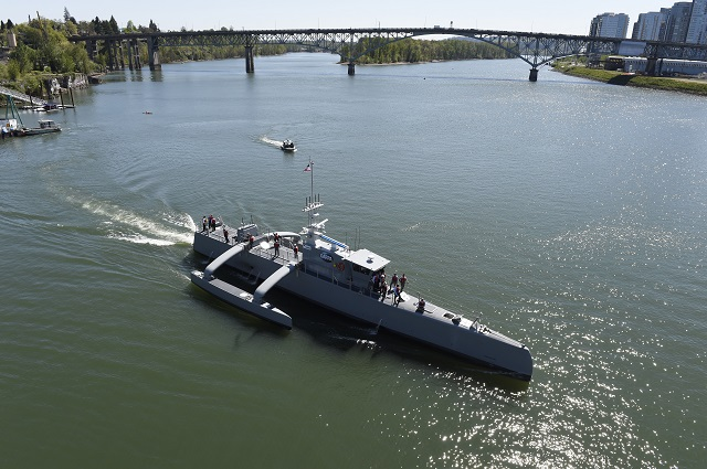 Sea Hunter ACTUV DARPA US Navy