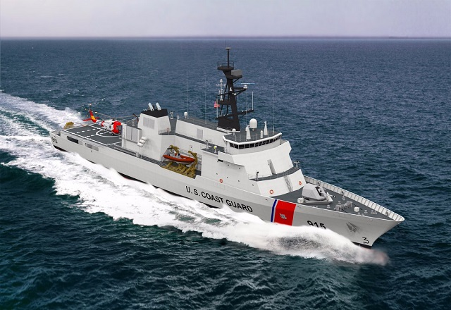 After conducting a thorough evaluation of proposals submitted by competing shipyards, the U.S. Coast Guard has awarded the largest vessel procurement contract in Coast Guard history to Eastern Shipbuilding Group in Panama City, Florida. Eastern Shipbuilding Group was selected to finalize its design and construct the first series of Nine Offshore Patrol Cutters to replace the Medium Endurance Cutters currently in service. The contract is initially for Nine vessels with options for Two additional vessels. The Coast Guard program goal is to build Twenty Five Offshore Patrol Cutters having a potential total contract value in excess of Ten billion dollars. Initially, Eastern has been awarded the detail design effort with a value of approximately One Hundred Ten million dollars. Construction of the first vessel is expected to commence in 2018.