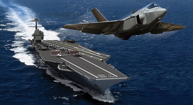 US Navy NAVAIR Briefed French Navy on EMALS and AAG for Aircraft Carrier