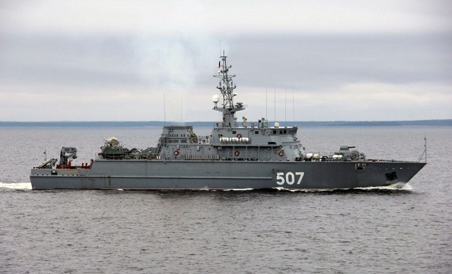 Project 12700 mine sweeper Alexander Obukhov
