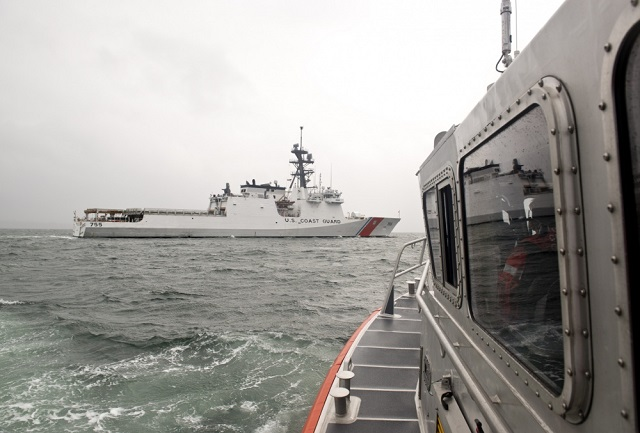 United States Coast Guard Cutter Munro Commissioned; Powered by GE LM2500 Gas Turbine