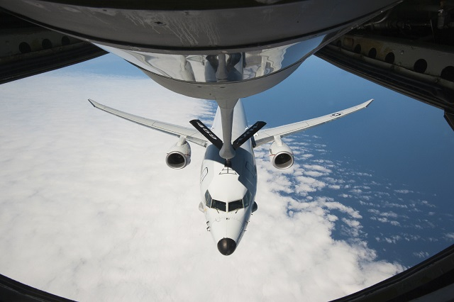 US Air Force & US Navy Conduct First P-8A Poseidon MPA Aerial Refueling Mission
