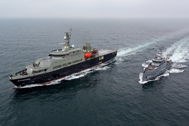 Damen Announces Successful sea trials for Australian Multi-role Aviation Training Vessel MATV