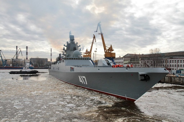 Russian Navy Next Generation Frigates to be Based on Project 22350 Gorshkov-class
