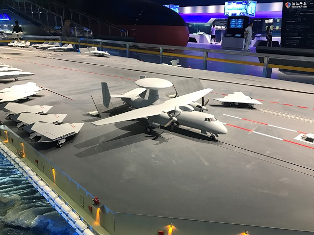 China Developing Carrier Capable AEW Aircraft for PLAN 8