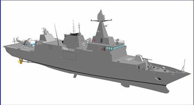 Fincantieri air defence corvette Qatar