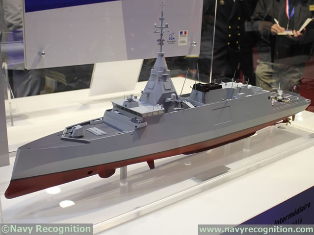FTI scale model at Euronaval 2016.
