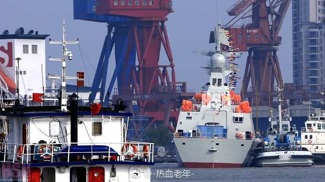 Chinese Shipyard Launched the 29th Type 054A Frigate for the PLAN 3