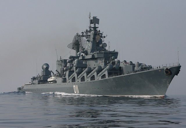 Varyag guided missile cruiser