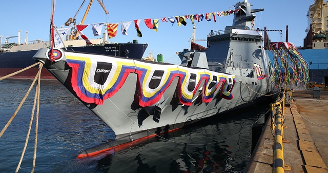 DSME Launched DW3000 Frigate Royal Thai Navy 3
