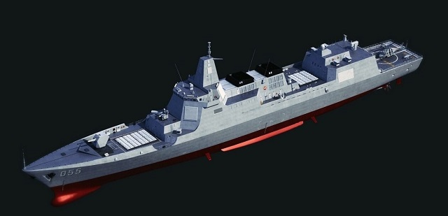 Type 055 Destroyer China PLAN