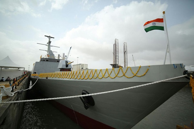 First Two NOPVs Shachi and Shruti Launched by Reliance Defence for Indian Navy 2