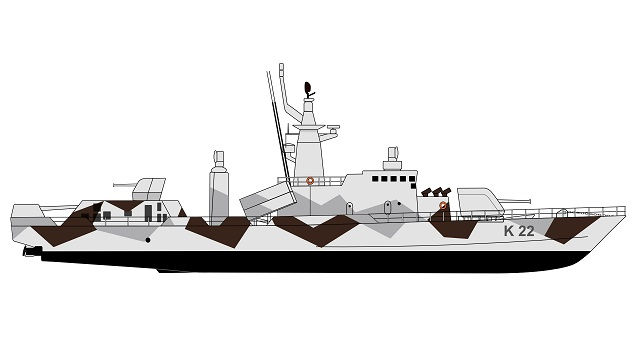 HMS Gavle 2003 Drawing