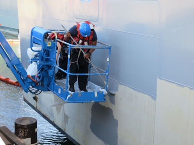 NRL develops new paint coating for warships 2
