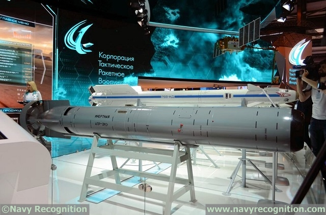 Naval Weapon Systems & Technology - Page 10 Tactical_Missiles_Corporation_APR-3ME_Grif_torpedo_1