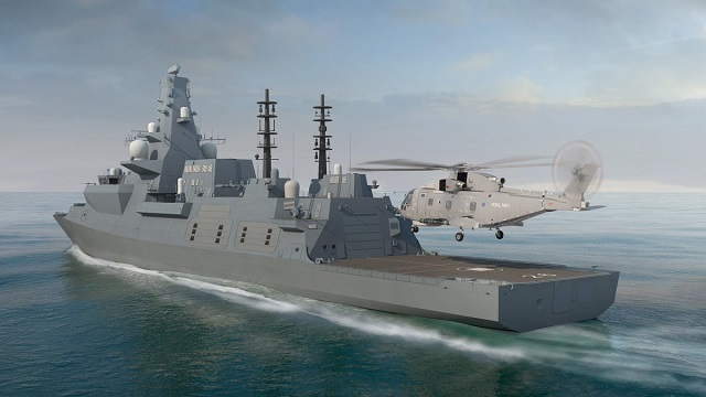 Type 26 Global Combat Ship Frigate BAE Systems Royal Navy 3