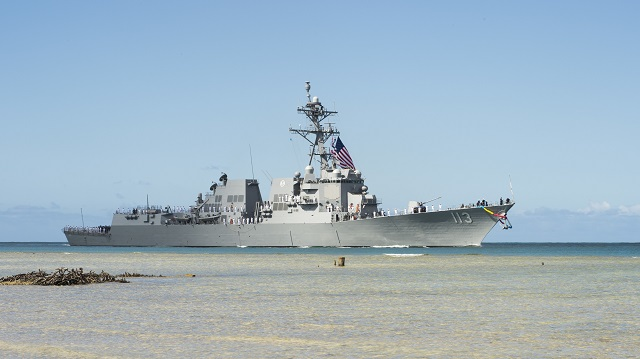 USS John Finn DDG 113 Destroyer US Navy