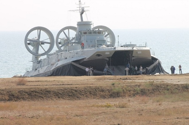Russia to Restart Project 12322 Zubr-class Large LCAC Production