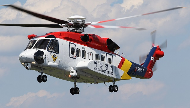 Lockheed MartiSouth Korea Coast Guat S 92 Helicopter