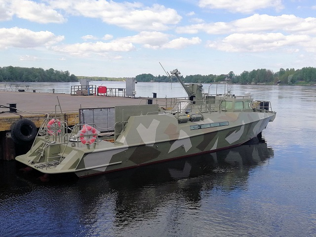 raptor Project 03160 Pella Shipyard Russia