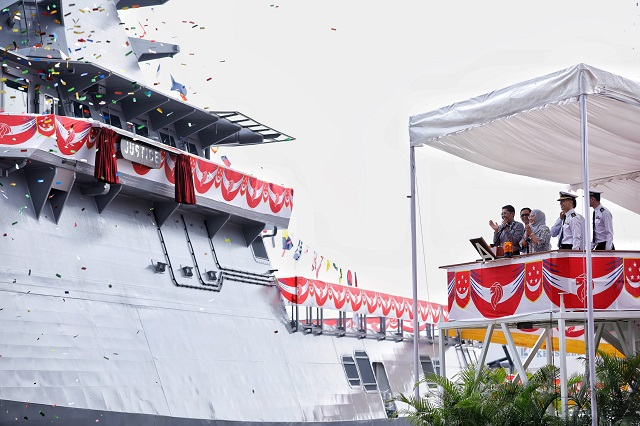 RSN fourth Littoral Mission Vessel RSS Justice Singapore