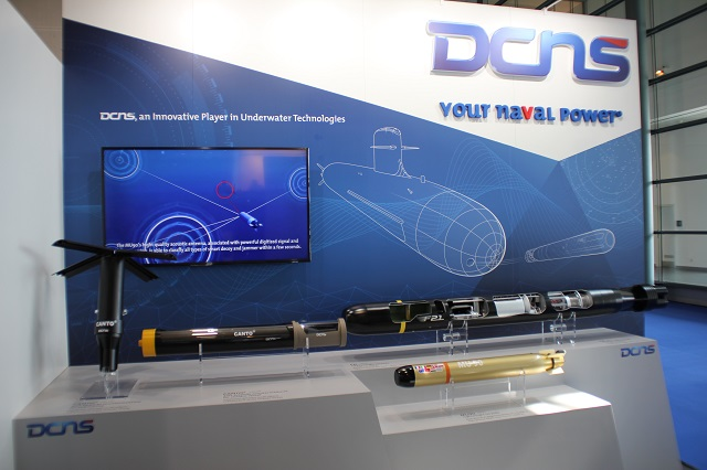 UDT 2017: DCNS Showcasing its F21, MU90 Torpedoes and CANTO Decoy