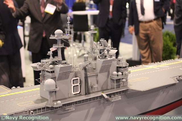 Video: Future USS Bougainville LHA-8 Design by Huntington Ingalls Industries