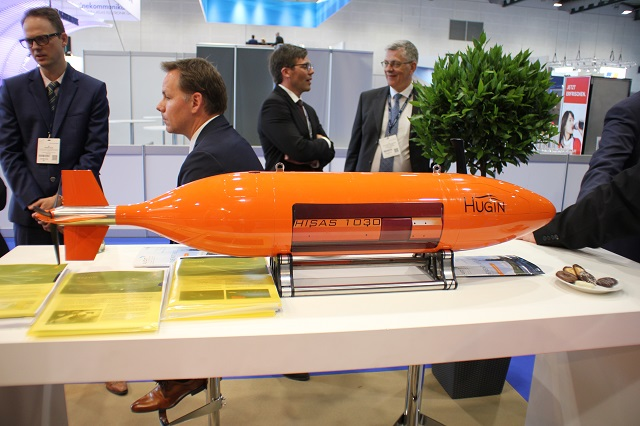 UDT 2017: KONGSBERG Highlights Compact Acoustic Solutions and AUVs