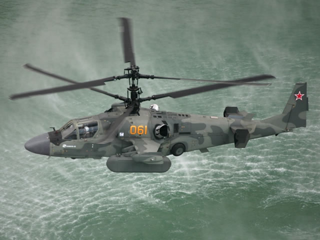 Egypt to decide on Russian Ka-52K Katran Naval Helicopters Purchase This Month