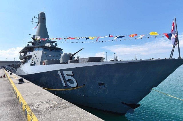 Republic of Singapore Navy Commissions Littoral Mission Vessel - RSS Independence