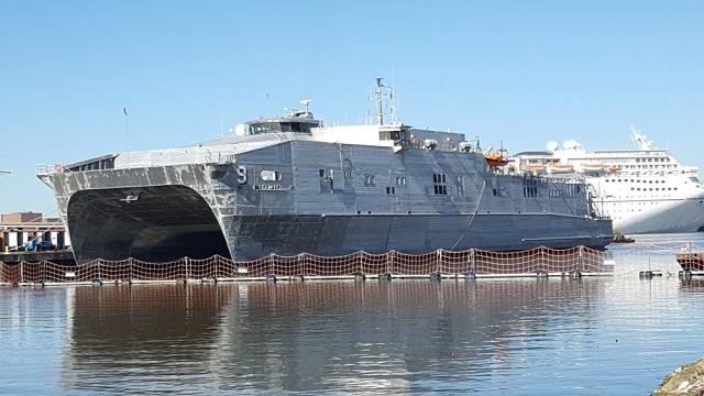 USNS City of Bismarck Expeditionary Fast Transport EPF 9 Austal