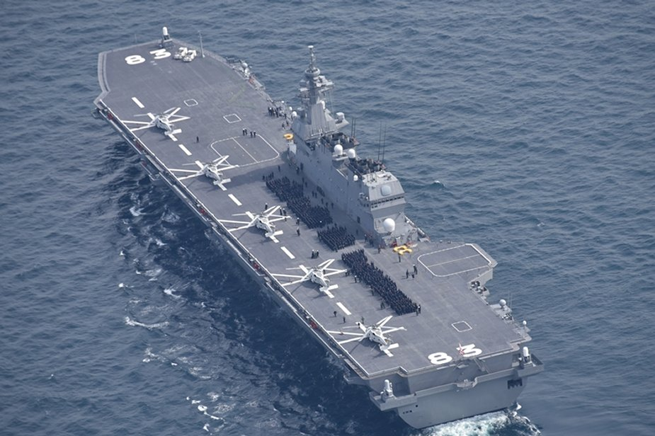 Japan to launch first aircraft carriers since WW2