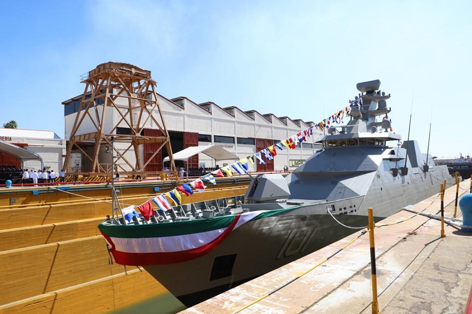 POLA Sigma 10514 ARM Reformador Frigate Launched for Mexican Navy 1