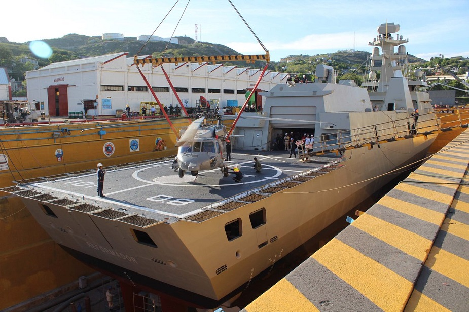 POLA Sigma 10514 ARM Reformador Frigate Launched for Mexican Navy 2