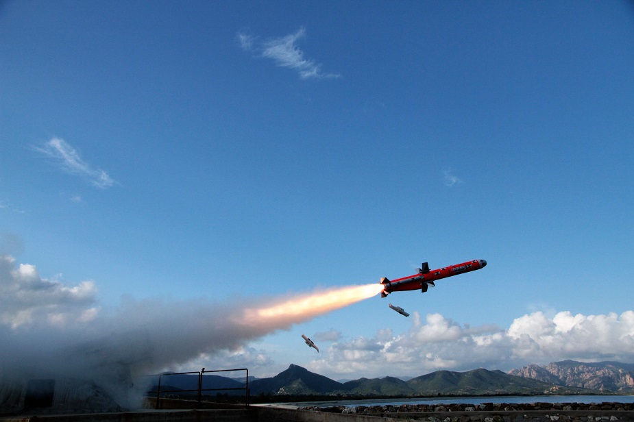 Successful First Launch for MBDA Marte ER Anti Ship Missile
