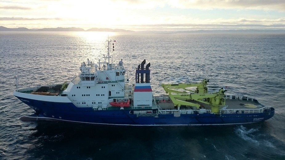 First Project 23120 Supply Vessel Elbrus Joined Russian Navy