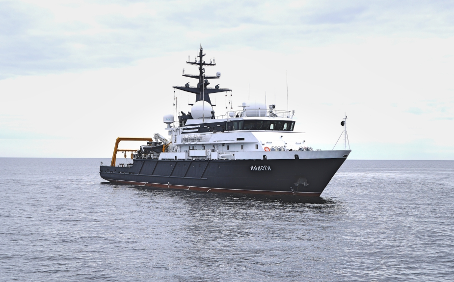 New Test Vessel Ladoga Commissioned with Russian Navy