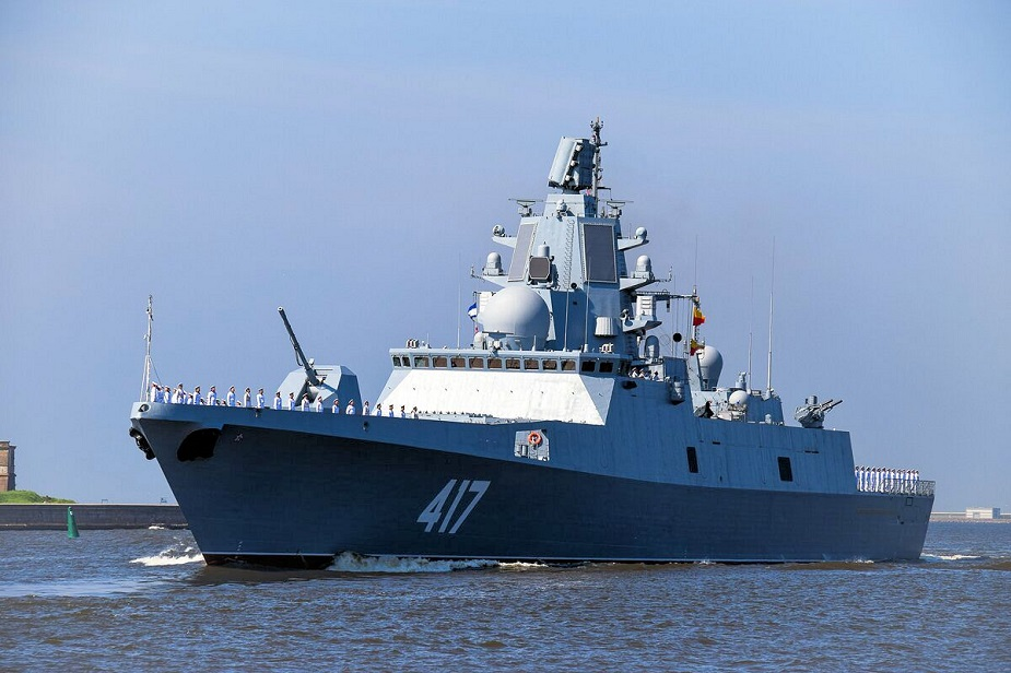 Project 22350 frigate Admiral Gorshkov Joined Russian Navy