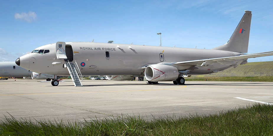 RAF P 8A Maritime Patrol Aircraft to be Known as Poseidon MRA Mk.1