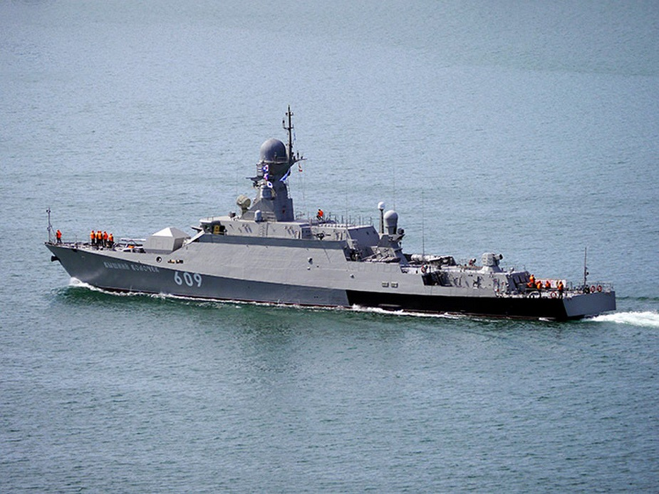Russias Latest Buyan M Corvette Reinforces Russian Mediterranean Group