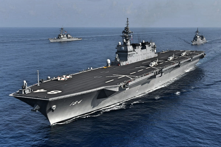 US Navy JMSDF Carriers Participate in Bilateral Training in South China Sea 2