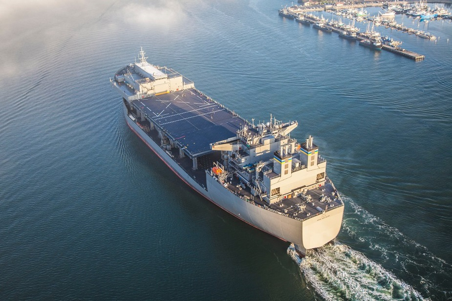 U.S. Navy Accepts delivery of USNS Hershel Woody Williams