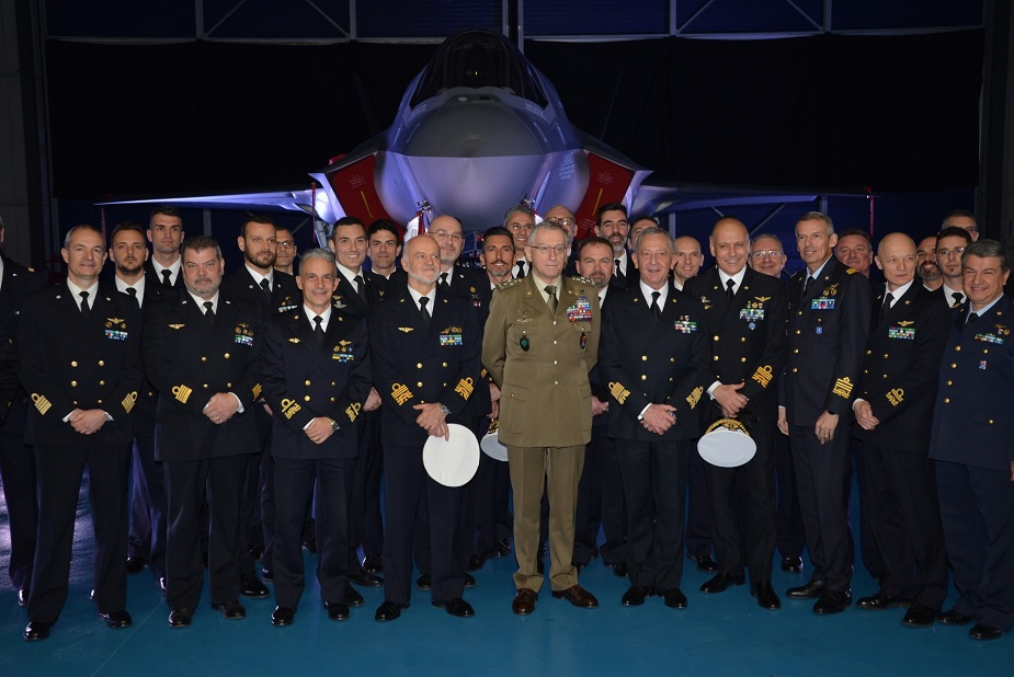 First Italian Built F 35B STOVL Aircraft Delivered To Italian Navy 2