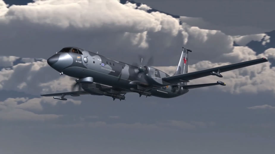 ASW Aircrafts for Russian Navy: - Page 10 Il-114MP_MPA_Russia_ASW