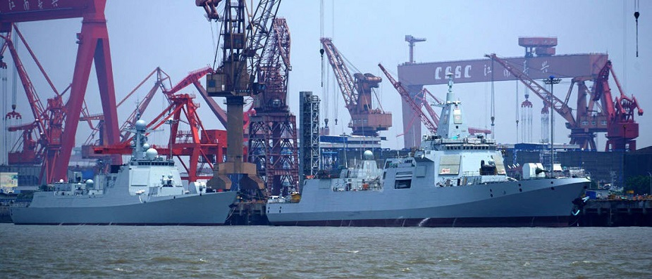 China Launched the Fourteenth Type 052D Destroyer for the PLAN 2